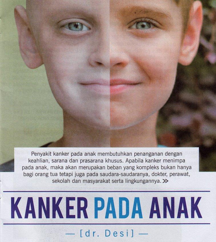 Apakah anak-anak bisa terkena kanker - Klinik Kosasih Lampung